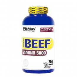 FitMax® BEEF AMINO 5000 – 250 Tab.