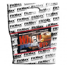 FitMax® Whey Protein 81+ - 2250 G