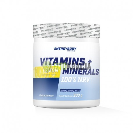 Vitamins + Minerals 100% NRV - 300g