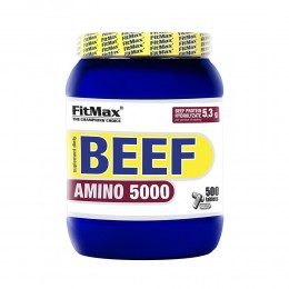 FitMax BEEF AMINO 5000 - 500 Tab.