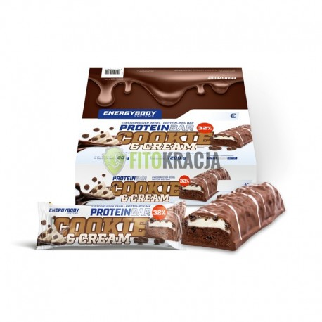 PROTEIN BAR cooke & cream - 24x 50g