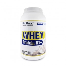 FitMax Whey protein 81+ - 2250g